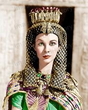 8x10 Print Vivien Leigh Cesar and Cleopatra 1945 Colorized #VLEO