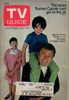 1970 TV Guide July 4 - Bill Bixby; Carol Burnett; Sander Vanocur; Truman Capote