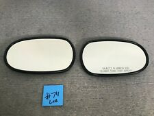 2004-2007 Jaguar XJ8 XJR OEM Left & Right Door Mirror Glass Auto Dim #74