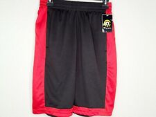 Champion C9 Men's Duo Dry Black & Red Athletic Train Basketball Gym Shorts New