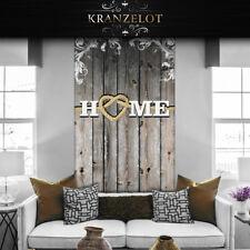 wandtattoo Tapete Türfolie Bordüre Folie Holzwand Home Holzoptik braun R0029