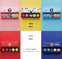 Volvik Golf Balls Marker Set Marvel Disney Collaboration Limited Edition