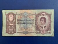 HUNGARY 50 PENGO 1932 - VERY FINE(3)