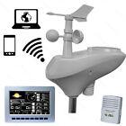 Solar Powered Wireless WiFi Weather Station - Professional Model