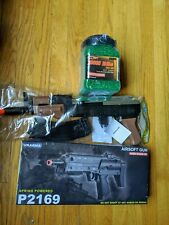 2 Spring Airsoft toy rifles + 10000 BB's