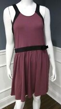 M9 Victoria's Secret dress plum wine black racerback polyester dress XL Sislou