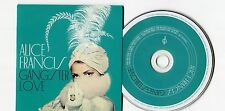 Alice Francis - cd-PROMO - GANGSTERLOVE © 2013 - EU-7-Track-CD