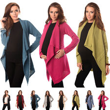 Maternity and Nursing Cascade Open Front Cardigan Size 8 10 12 14 16 18 9003