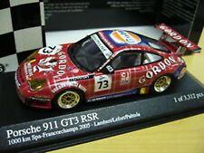 Porsche 911 996 gt3 rsr 24h spa 2005 Gordon Gulf #73 Minichamps S-precio 1:43