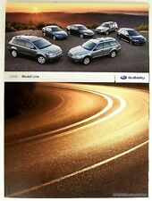 2009 Subaru Impreza WRX Outback Forester Legacy Dealer Sales Brochure Literature