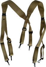 US Army spallacci M36 americani, Y straps, suspenders straps bretelle WW2