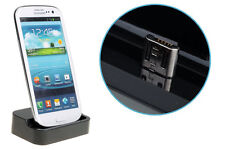 Desktop Charger & Sync Docking Station Cradle for Samsung Galaxy SIII S3 BLACK