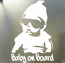 Baby on Board sticker funny car window laptop Hangover Carlos