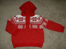 Gymboree Baby Boys Joyful Holiday Red Fair Isle Sweater 12-18 months mos NWT $32