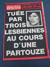 Détective 1977 1609 TROYES HERENTALS BRAY DUNES LE VéSINET RIVIèRE UTELLE AMIENS