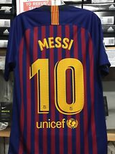 b51a68782 Nike Men s FC Barcelona 2019 Stadium Home Soccer Jersey Size Small With Tags