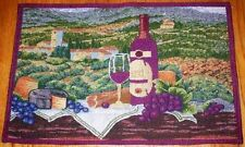 #139 WINE THEMED 4 PIECE TAPESTRY PLACEMATS