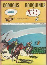 COMICUS BOUQUINUS n°1 - Fanzine du G.E.L.D. 1970 revue Suisse. Strinati.