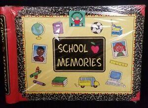 NEW Discovery Toys School Years Memories Keeper Book Keepsake Photo Album K-12