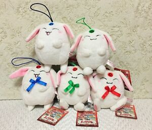 NEW Clamp Magic Knight Rayearth Mokona Mascot Plush Strap 5 Types Official Japan
