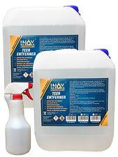 INOX Teerentferner 2x 5 Liter inkl. leere 500 ml Sprühflasche