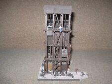 Model Power HO Scale Bors Coaling Station.  Custom Built, Weathered & Detailed