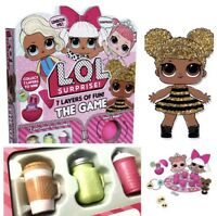 LOL Surprise L.O.L.Ball Board Game Free Bottle Doll Accessories Bonbon Queen Bee