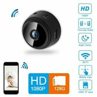 Mini HD Rechargeable1080P Camera Wireless Wifi IP Home Security DVR Night Vision