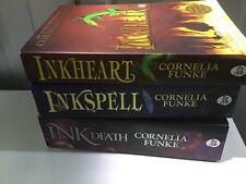 "Funke, Cornelia : ""Inkheart"" trilogy set collection paperback x 3"