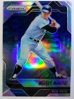 2017 Panini Chronicles Prizm Mickey Mantle #7, New York Yankees, Refractor, HOF