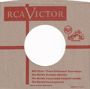 RCA Company Reproduction Record Sleeves - (pack of 5)
