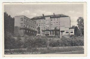 Carte Postale Zwickau Territoire des Sudètes Sanatorium 1942
