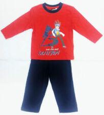 Pyjamas sans marque pour garçon de 2 à 16 ans en 100% coton