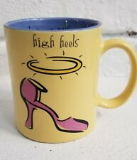 Max & Lucy High Heels..Low Morals Mug by Silvestri