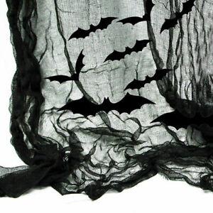 Halloween Creepy Table Cloth Curtain Fireplace Window Door Party Decoration UK