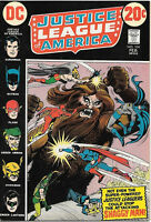 Justice League of America Comic Book #104, DC Comics 1973 VERY FINE