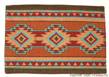 """Place mats Table Mats Southwestern Woven 13x19"""" Great Quality! Luna #11503"""