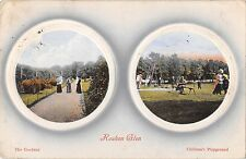 BR75394 rouken glen the gardens children s playground  glasgow scotland