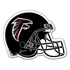 NFL Atlanta Falcons 12 inch Auto Magnet Helmet Shaped by Fremont Die