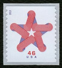 #4749 46c Patriotic Star, Mint **ANY 4=FREE SHIPPING**