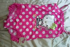 Hello kitty swimming costume swim suit age 12 BNWT