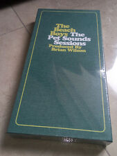 THE BEACH BOYS pet sounds sessions UK 4 CD DELUXE EDITION LONG BOX BRIAN WILSON