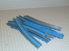 LEGO® Eisenbahn 8x Schiene 12V Kurve track blau 3241 7730 7727 7740 7866 F1404