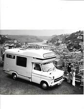 FORD TRANSIT TRAVELHOME   MOTORHOME PRESS PHOTO 'Brochure' 1976