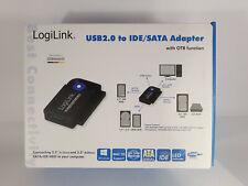 Adapter USB 2.0 to 2,5 + 3,5 Zoll IDE + SATA HDD OTB LogiLink® AU0006D OVP