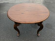 Ethan Allen Canterbury Oak Oval End Table Style #28-8414