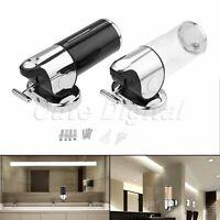 500ml Bathroom Soap Dispenser Liquid Lotion Shampoo Container Box Wall Mounted
