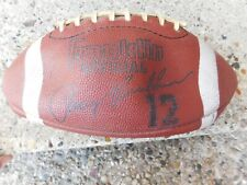 Vintage Franklin Terry Bradshaw #12 Endorsed Full Size Football