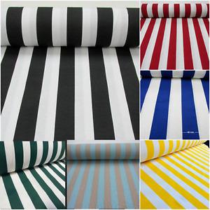 Striped Fabric Sofia Stripes Curtain Material Wide Stripe Cloth 280cm EXTRA wide