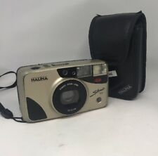 halina silhouette zoom Vintage Film Camera with Manual and Case